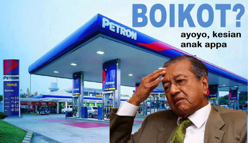Image result for boikot petron