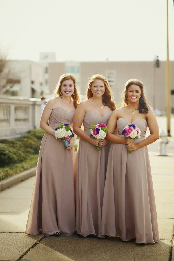 Colors Mocha Raisin Bridesmaid Dresses - Cheap Wedding Dresses