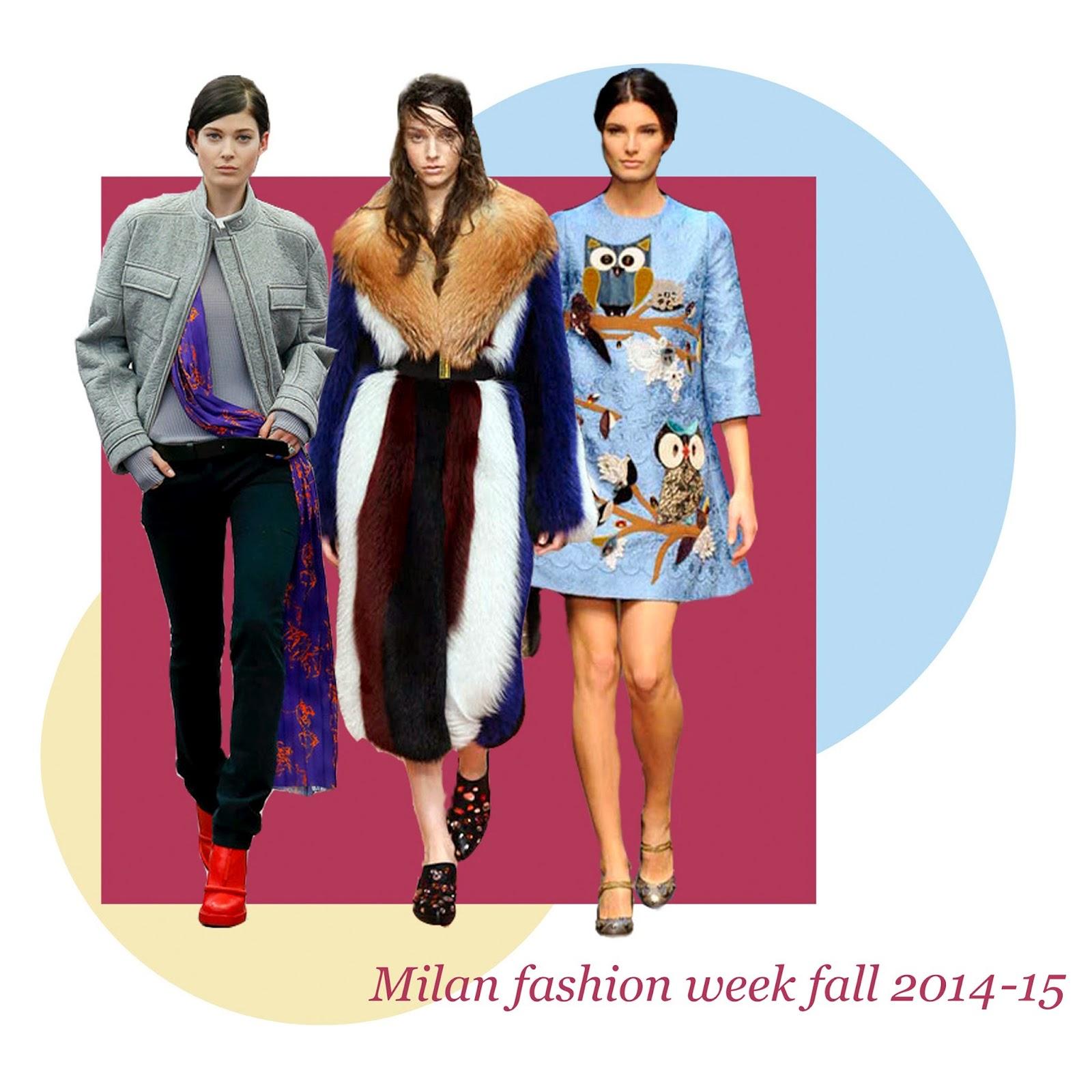 0858c5e9ff76 Обзор недели моды в Милане. Осень зима 2014-15   darisunshine