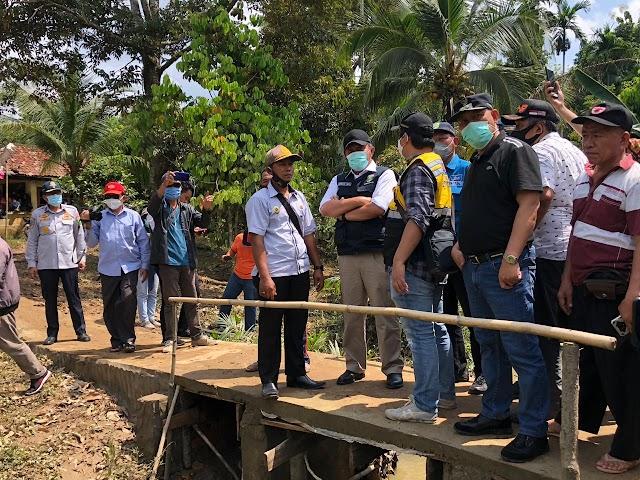 Gubernur Sumsel Tinjau Lokasi Banjir Bandang Di Muaraenim