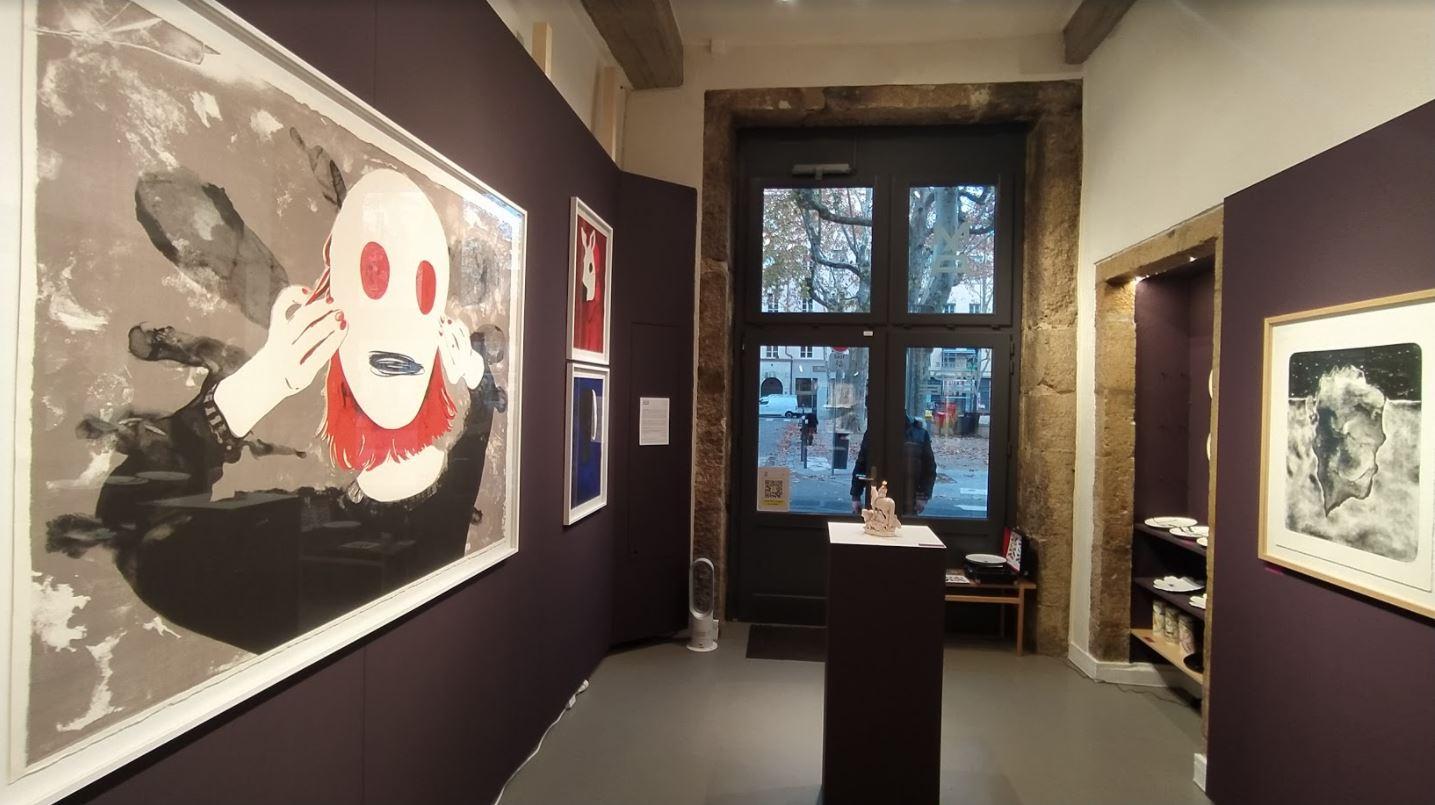Intérieur de la galerie - La taille de mon âme - Lyon