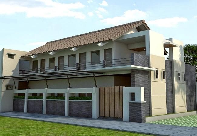 model rumah kos kosan minimalis 4