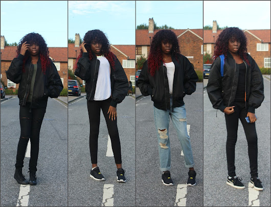 How I Style My Bomber Jacket | Lookbook