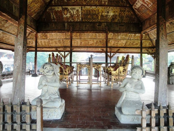 Court House Kerthagosa - Klungkung, Semarapura, Kerthagosa, Taman Gili, Monument, Museum, Bali, Holidays, Leisure, Attractions