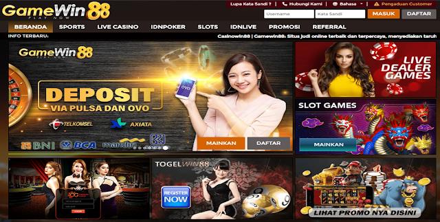 Casino Online   Bola Parlay   Live Casino Indonesia - Gamewin88