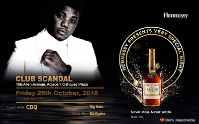 Photos: 'Club Scandal' Takes Mainland By Storm With CDQ and Hennessy (Photos)