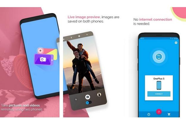 SayCheese - Χειριστείτε από απόσταση την κάμερα του κινητού σας και δείτε εικόνα μέσω άλλου smartphone