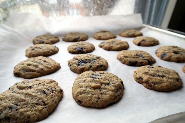 Schoko-Mandel-Cookies frisch aus dem Ofen | pastasciutta.de