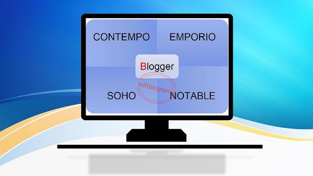 empat template terbaru blogger