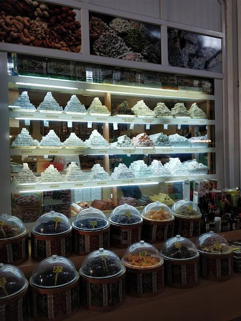 Turkish Delight Nicosia Municipal market (northern side)