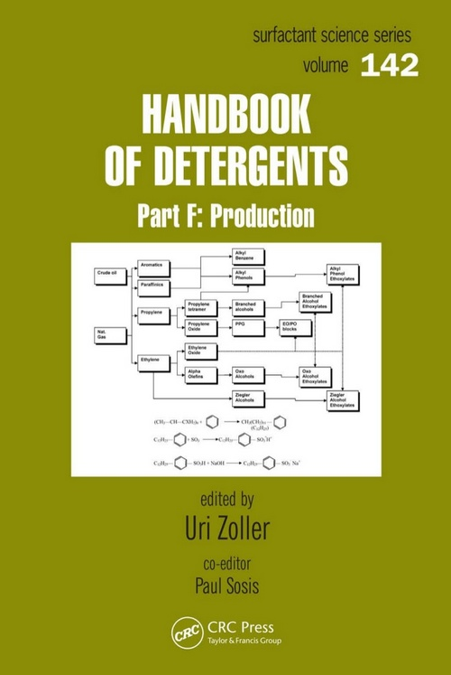 Handbook of Detergents: Production, Part F | Edited by Uri Zoller