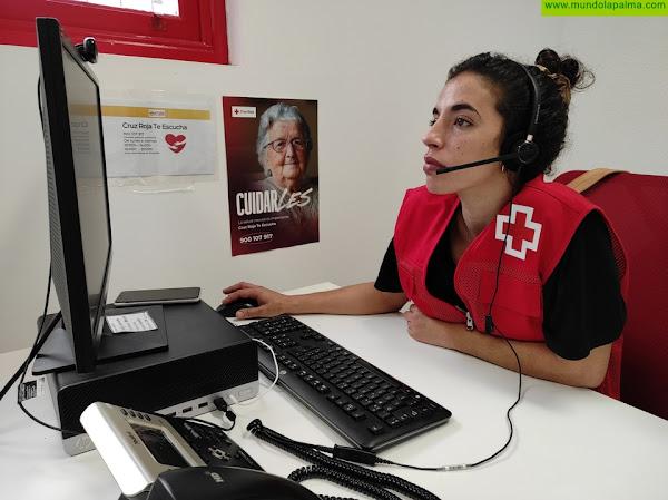 Ya está operativo el servicio de apoyo psicológico -Cruz Roja Te Escucha La Palma- 900 107 917