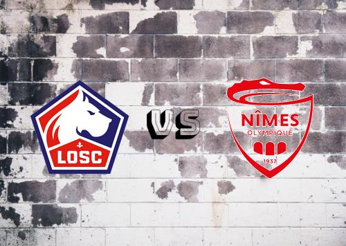 Lille vs Nîmes   Resumen