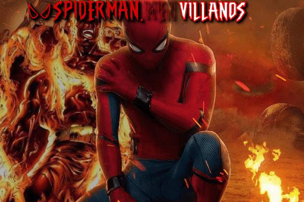 villanos de Spider-Man lejos de Casa