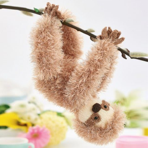 Luke the Sloth - Free Pattern