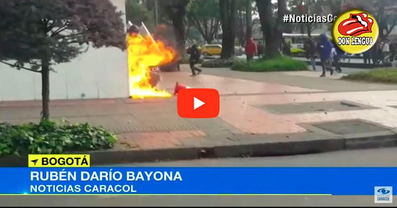 Régimen de Maduro por detrás de infiltrados violentos en marchas de Colombia