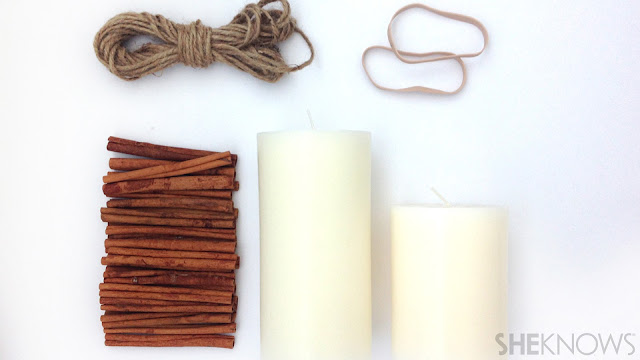 Ioanna's Notebook - DIY Cinnamon scented candle