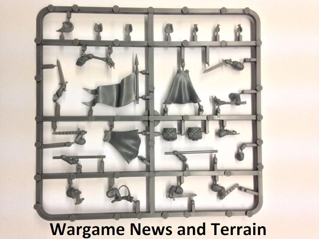 Fireforge Games Forgotten World Plastic Northern Bowmen Command Sprue