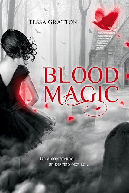 Blood magic | Blood journals #1 | Tessa Gratton