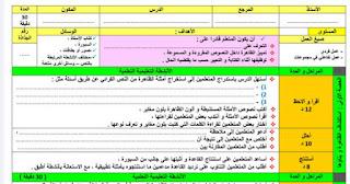 جذاذات نمطية لجميع مكونات اللغة العربية للمستوى الخامس والسادس  من التعليم الابتدائي وفق مستجدات 2020