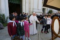 Il 25 Marzo 2019 Papa Francesco vista il Santuario di Loreto in occasione della festa dell'Annunciazione e parla di giovani, famiglia e ammalati