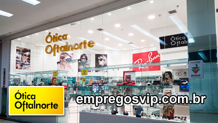 Ótica Oftalnorte Manaus vagas de emprego