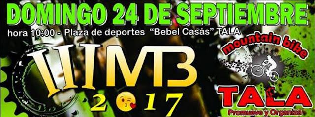 MTB - 3a carrera de MTB Tala (Tala - Canelones, 24/sep/2017)