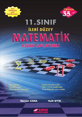 Esen 11. Sınıf İleri Düzey Matematik Konu Anlatımı PDF indir