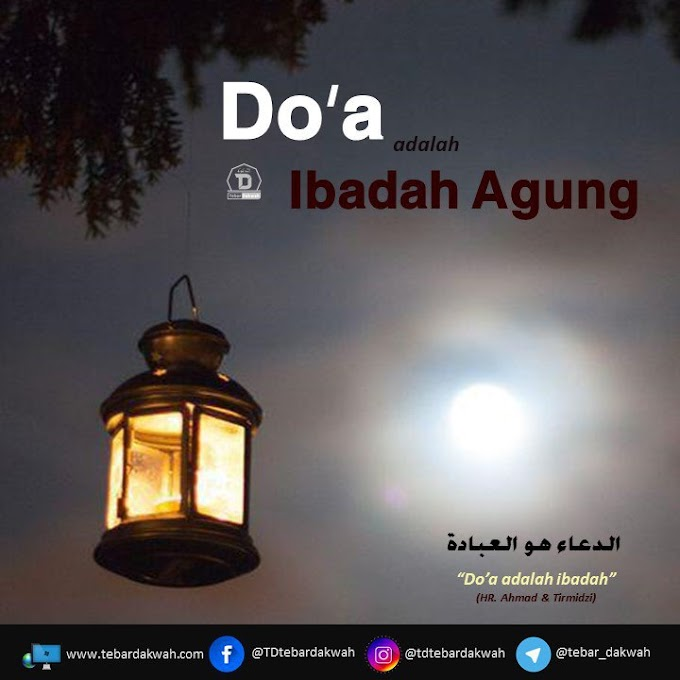 DO'A IBADAH YANG AGUNG