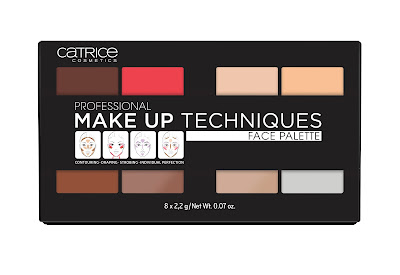 PROFESSIONAL MAKE UP TECHNIQUES FACE PALETTE