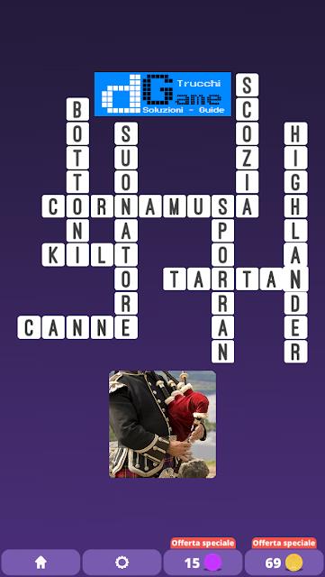 Soluzioni One Clue Crossword livello 13 schemi 12 (Cruciverba illustrato)  | Parole e foto