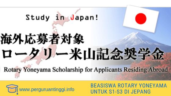 beasiswa untuk s1 s2 s3 ke Jepang