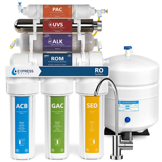 Ultraviolet Reverse Osmosis Water Filter