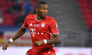 Liverpool lunch pre-contract offer for Bayern Munich defender David Alaba