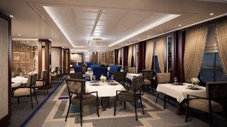 Cunard's Queen Victoria - Britannia Club Grill - Rendering