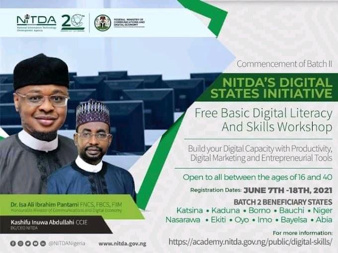 Yadda zaka cika Tallafin NITDA digital state initiative 2nd batch