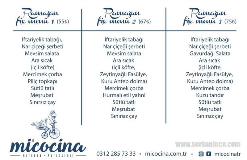 Ankara İftar Mekanları ve Menüler 2018