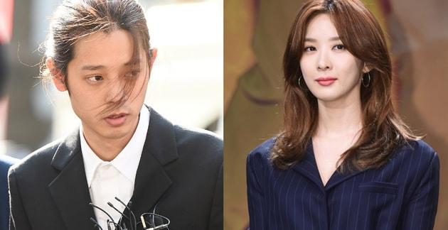 Lee Chung Ah dice que casi se desmaya después de escuchar los rumores sobre Jung Joon Young