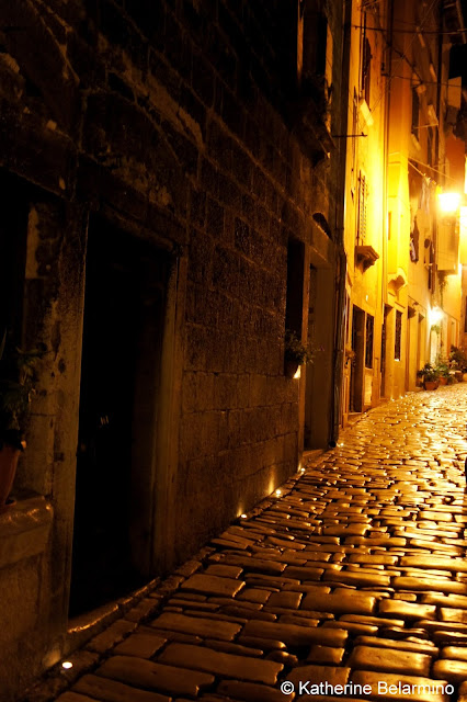 Capture the Colour Yellow - Marble Streets of Rovinj Croatia