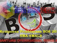 Komponen Pembiayaan BOS 2018 SMA-SMALB