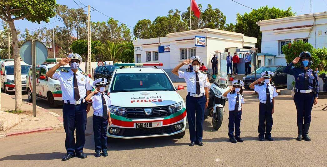 هدايا واستقبال حار لـ3 شقيقات عاشقات لمهنة الشرطة بأكادير