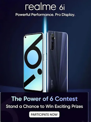 """Which new realme Phone has the tagline """" Powerful Performance. Pro Display""""?"""