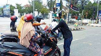 HMI-MPO Galang Dana Untuk Korban Bencana Alam