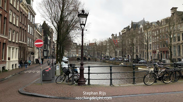 Canals Amsterdam Netherlands