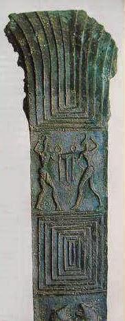 Ο Ηρακλής με τον Απόλλωνα ερίζουν για τον δελφικό τρίποδα.