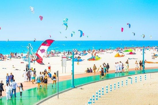 Water at Kite Beach Dubai