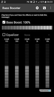 Cara Meningkatkan Bass pada hp android