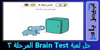 حل المستوي 3 Brain Test