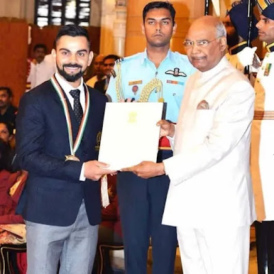 Virat Kohli Awards, Records and Achivements