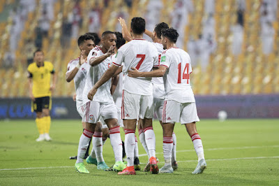 ملخص اهداف مباراة الامارات وماليزيا (4-0) تصفيات كاس العالم